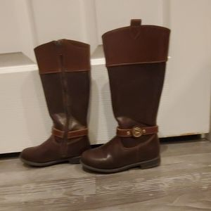 Girls Tommy Hilfiger riding boots